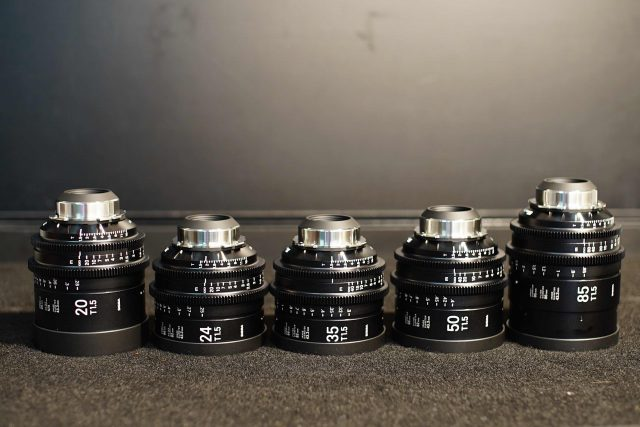 Sigma FF High-Speed Cine Primes